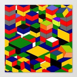 zappwaits squares Canvas Print
