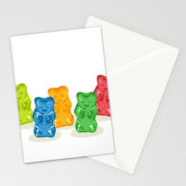 Gummy Bears Gang Stationery Cards