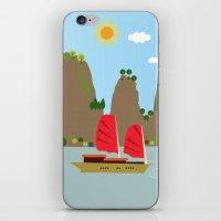 vietnam iPhone & iPod Skins featuring Vietnam View by Design4u Studio