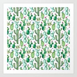 Cactus Oh Cactus Art Print