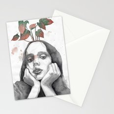 Friday nostalgia, watercolor Stationery Cards