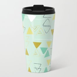 Aqua Free Triangle Travel Mug