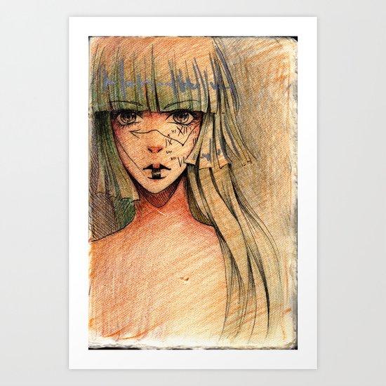 Time - Sketch Art Print