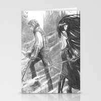 castlevania Stationery Cards featuring castlevania by Oxxygene