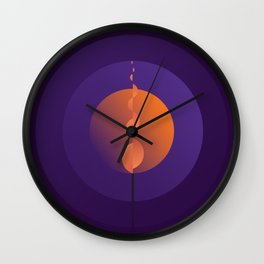 The Candle Wall Clock