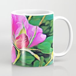 Pink Flower of Graceful Beauty Coffee Mug