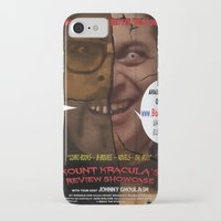 minions iPhone & iPod Cases featuring Kount Kracula's Review Showcase -TV Show Promo Poster  by Tex Watt