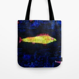 The Goldfish, 1925 by Paul Klee Tote Bag