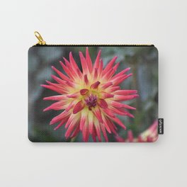 Red Star Dahlia Carry-All Pouch