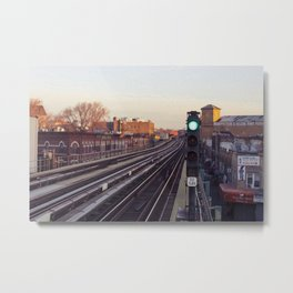 Take The 'A' Train Metal Print