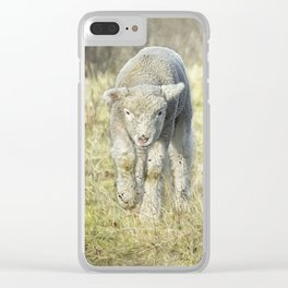 Here Comes Sweetness Clear iPhone Case