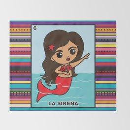 La Sirena Throw Blanket