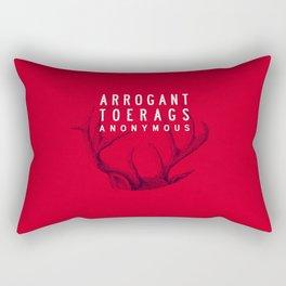 ARROGANT TOERAGS ANONYMOUS Rectangular Pillow
