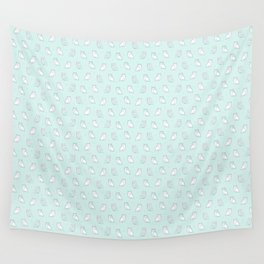 Baby Owls in a row Wall Tapestry
