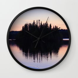 Isle Royale Wall Clock