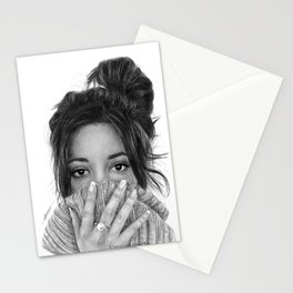 Camila Cabello Jumper Drawing Stationery Cards