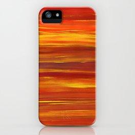 Sunset stratum iPhone Case