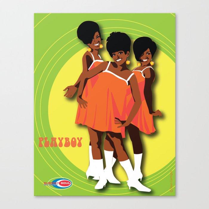 The Marvelettes Subway Soul Canvas Print