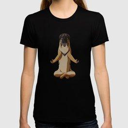 Meditating Leonberger Dog T-shirt