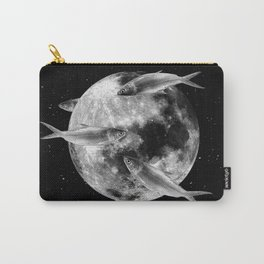 fish thank with floathing moon Carry-All Pouch
