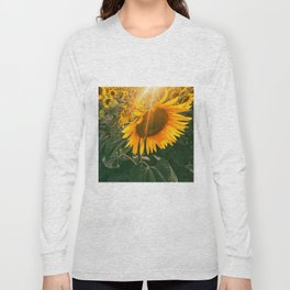 summer in the fields Long Sleeve T-shirt