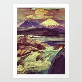 The Rising Fall Art Print