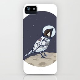 Space Sparrow iPhone Case