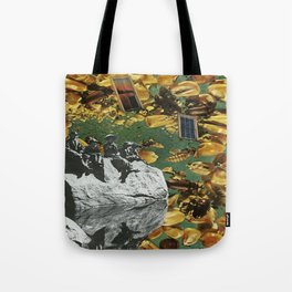 bees in the trap Tote Bag