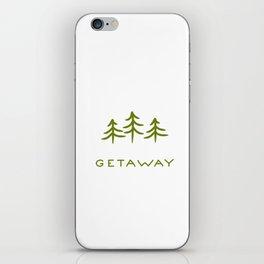 Getaway iPhone Skin