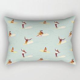 Waikiki beach Rectangular Pillow