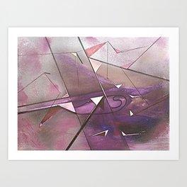 EL CRISTAL CONCLAVE Art Print