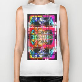 3-D-GEOMETRY AND COLOR. Biker Tank