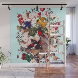 Floral and Birds XXXI Wall Mural