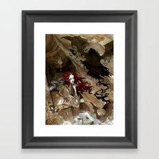 Dracula Calls Framed Art Print