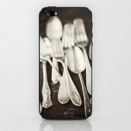 Antique Silverware  iPhone Skin