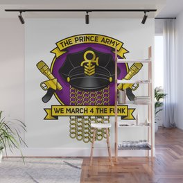 TPA Crest - We March 4 The Funk (Reverend design #2) Wall Mural