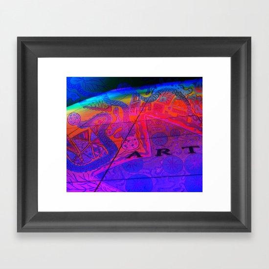 Art Wall Collage Framed Art Print