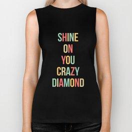 Shine On You Crazy Diamond Biker Tank