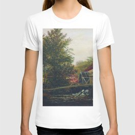 An Old Mill 1859 By Lev Lagorio | Reproduction | Russian Romanticism Painter T-shirt