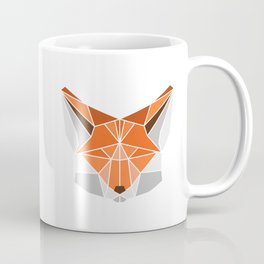 Polygonal fox portrait Coffee Mug