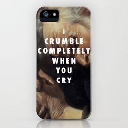 Crying Heraclitus iPhone Case