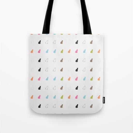 cat pattern#2 Tote Bag