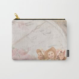Timeless Victorian Collage Carry-All Pouch