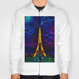 Paris Starry Night by Jeanpaul Ferro Hoody