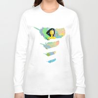 india Long Sleeve T-shirts featuring India by Humberto Milhomem