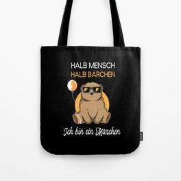 Half Human Half Bear Gift Tote Bag