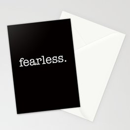 fearless. Stationery Cards