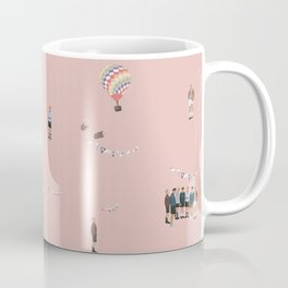 BTS Young Forever Pattern - Pink Coffee Mug