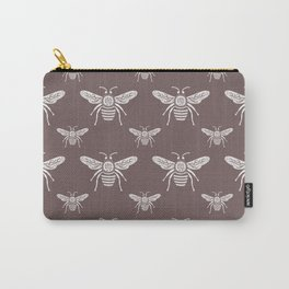 Delicate Bee Garden Classic Carry-All Pouch