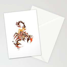 Tribal Scorpion Stationery Cards